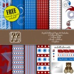 4th of July Digital Kit