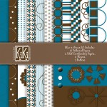 Blue-n-Brown Digital Kit