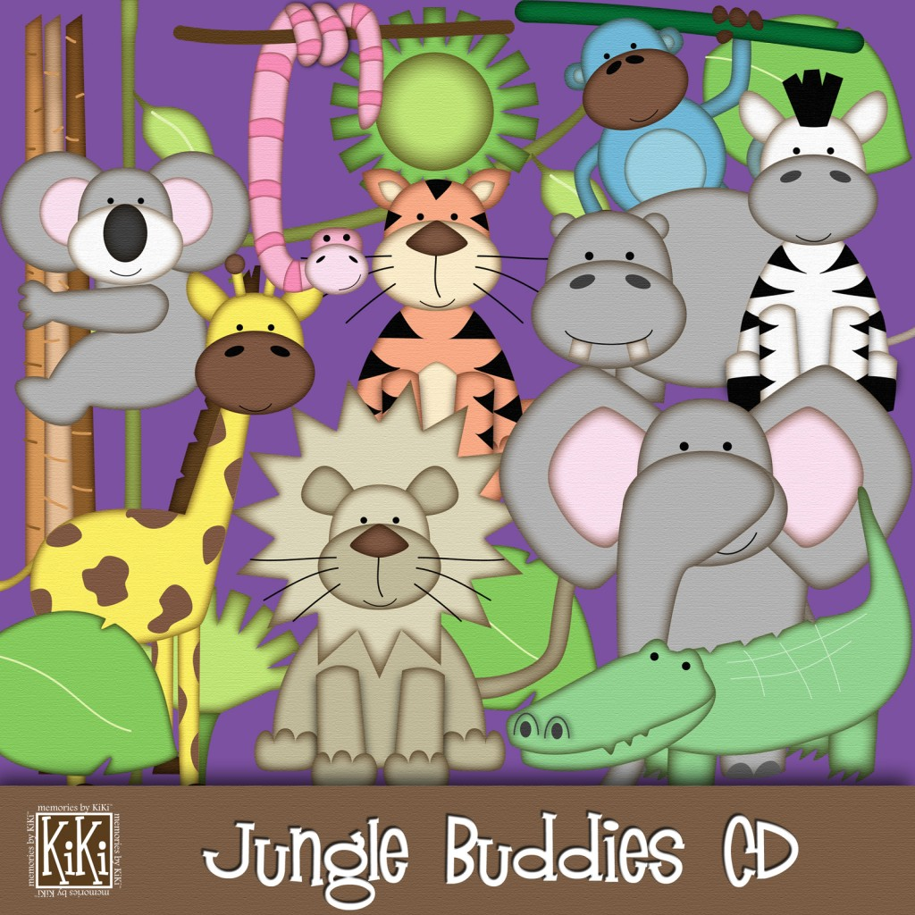 Jungle Buddies CD