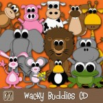 Wacky Buddies CD
