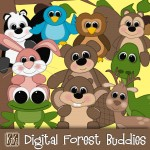 Digital Forest Buddies
