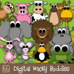 Digital Wacky Buddies